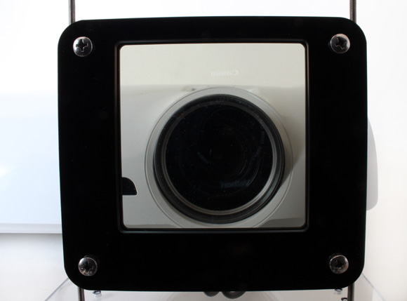 Tru3D Polarizer closeup