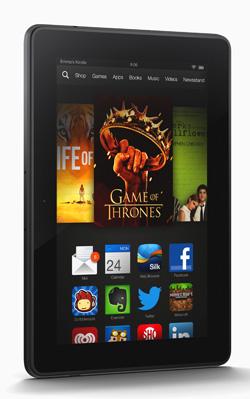Amazon Kindle Fire HDX vertical