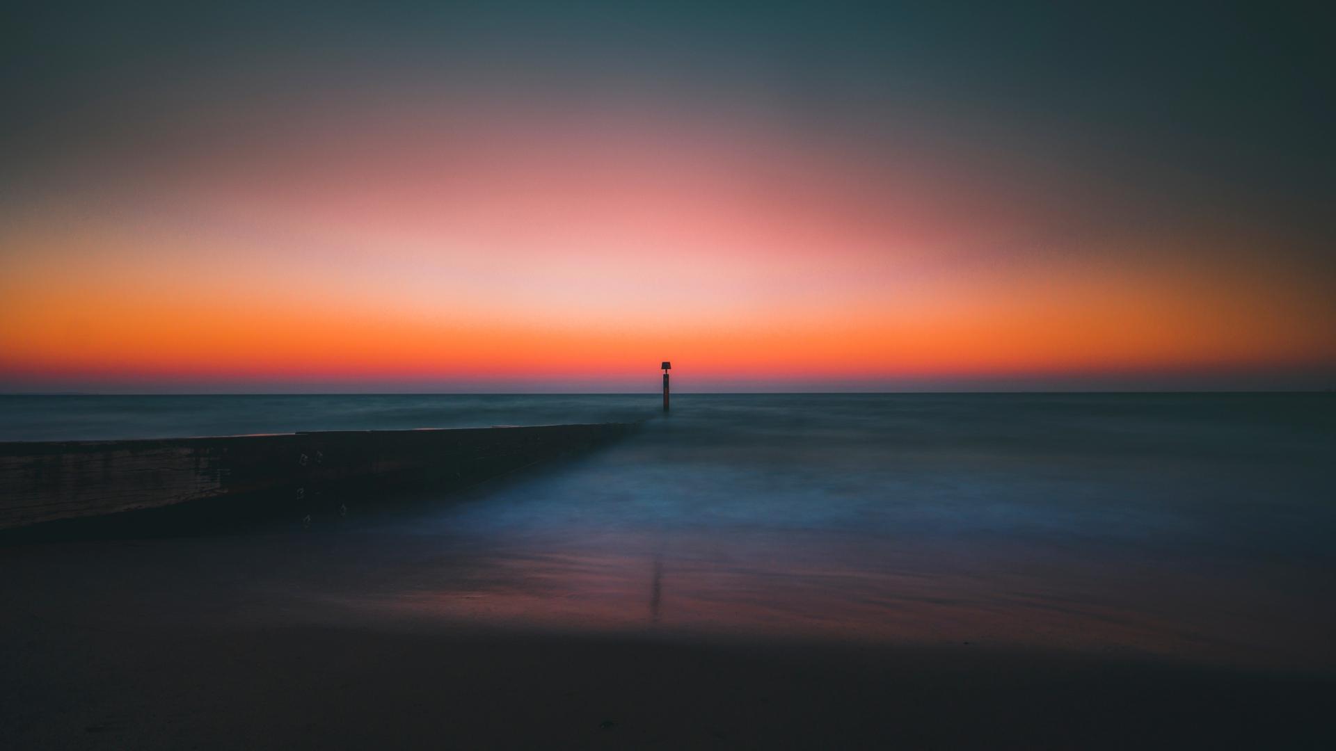 HD Hintergrundbilder leuchtturm horizont pier meer
