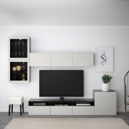 41 DIY TV Gallery Wall Inspirations & How Tos 19