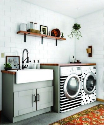 41 Fascinating Laundry Room Cabinets Ideas For Laundry Room Makeover 9