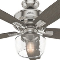 44 Bennett 5 Blade Ceiling Fan With Remote, Light Kit Included 10