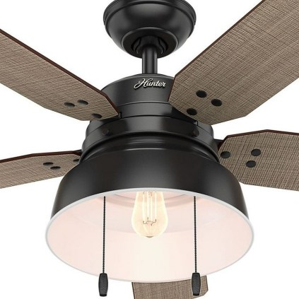 44 Bennett 5 Blade Ceiling Fan With Remote, Light Kit Included 22