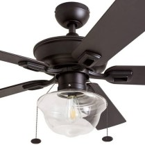 44 Bennett 5 Blade Ceiling Fan With Remote, Light Kit Included 24