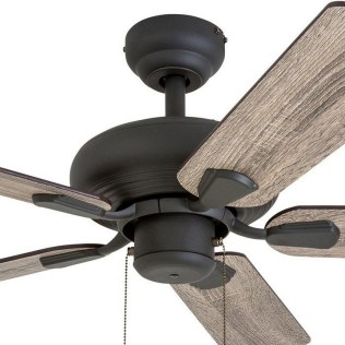 44 Bennett 5 Blade Ceiling Fan With Remote, Light Kit Included 25