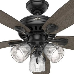 44 Bennett 5 Blade Ceiling Fan With Remote, Light Kit Included 31