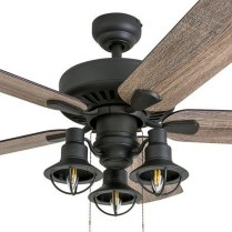 44 Bennett 5 Blade Ceiling Fan With Remote, Light Kit Included 34