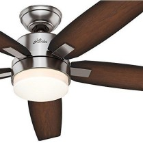 44 Bennett 5 Blade Ceiling Fan With Remote, Light Kit Included 42