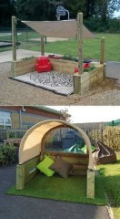45 Cool And Budget Friendly Projects For A Kid S Play Area #backyardideas Make 34