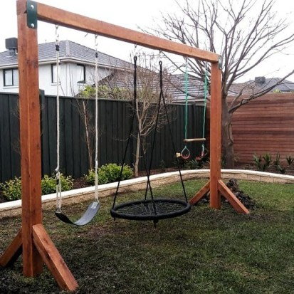 45 Cool And Budget Friendly Projects For A Kid S Play Area #backyardideas Make 8