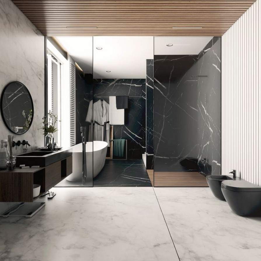 49 Luxury Bathrooms And Tips You Can Copy From Them 7