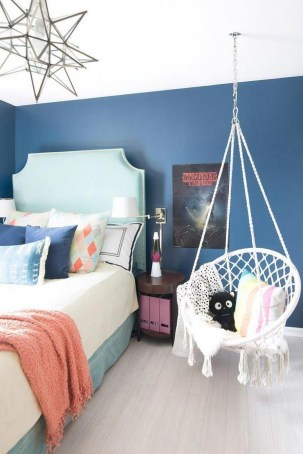 54 Aesthetic Teenage Bedroom Ideas Redecorating On A Budget 11