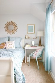 54 Aesthetic Teenage Bedroom Ideas Redecorating On A Budget 26