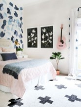 54 Aesthetic Teenage Bedroom Ideas Redecorating On A Budget 34