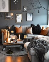55 Black And Gray Living Room Decorating Ideas 2020 2
