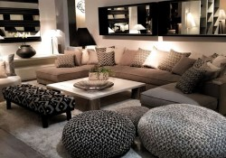 55 Black And Gray Living Room Decorating Ideas 2020 32