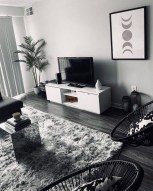 55 Black And Gray Living Room Decorating Ideas 2020 34