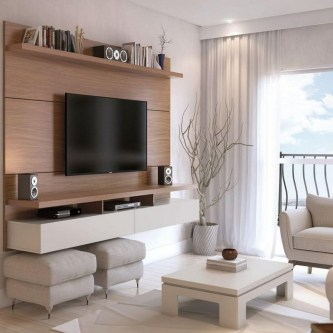 56 Astonishing Partition Design Ideas For Living Room 14