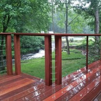 58 Creative Deck Railing Ideas For Inspire What You Want 15