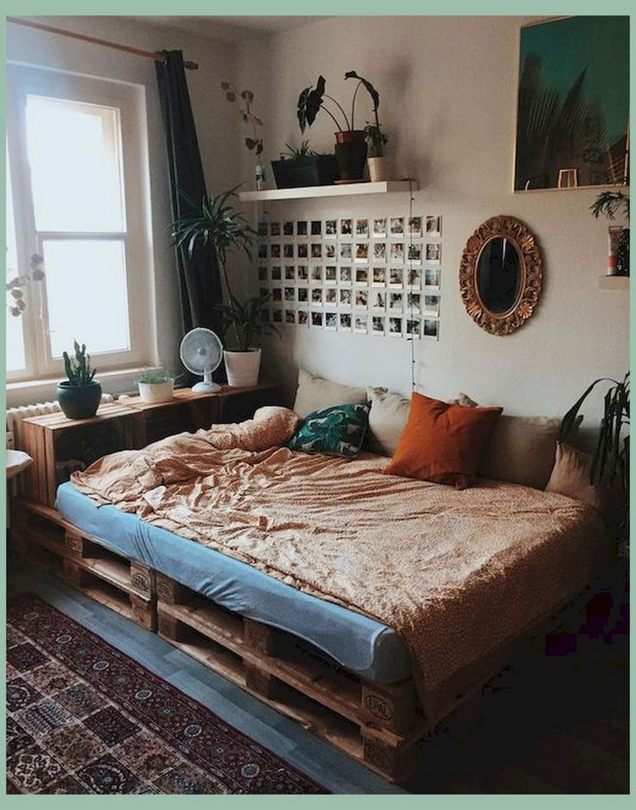 88 Adorable Pallet Bed Ideas You Will Love Crafome 51