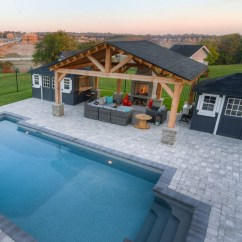 36 Pool House Design Ideas That Make Life Feel Like A Permanent Vacation 4