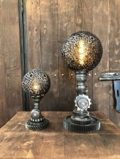 48 Amazing Lamps Selection From DIY Tire Projects 34