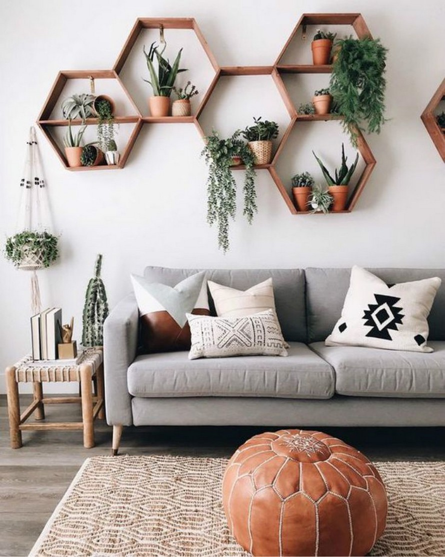 60 The Benefits of Floating Shelves Home Decor 53