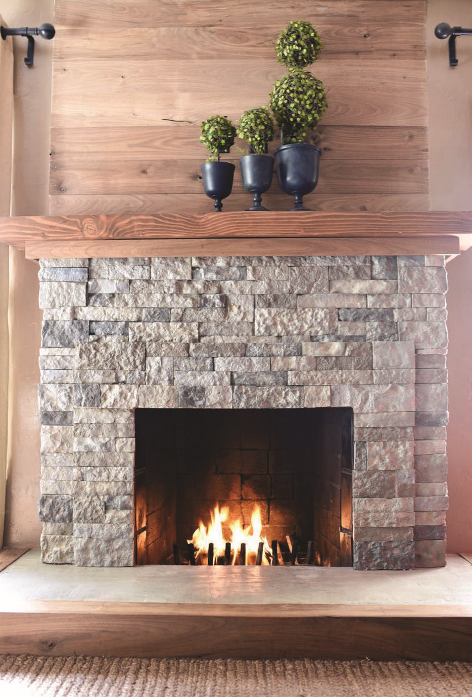76 Stone Fireplaces The Hearth Is The Heart of The Home 35