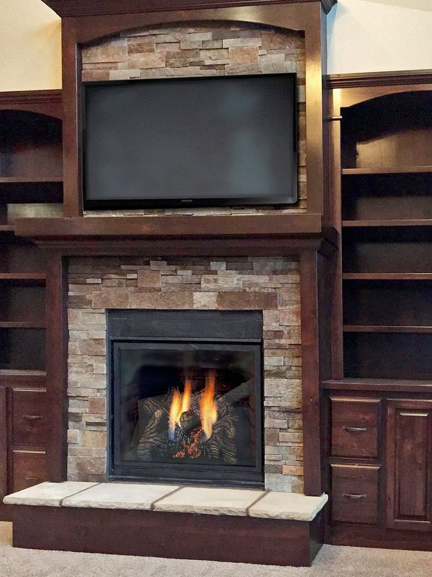 76 Stone Fireplaces The Hearth Is The Heart of The Home 9