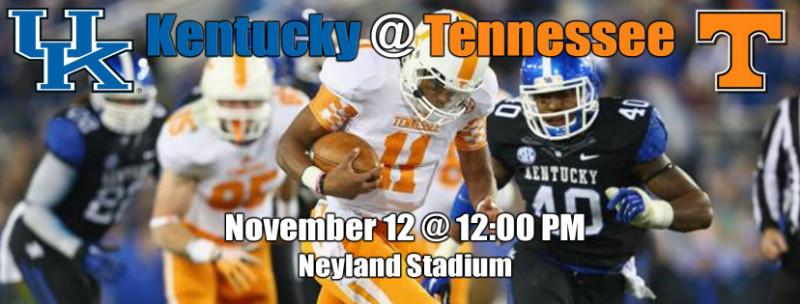 Kentucky Game 2016   TN Bill's Tennessee Tidbits