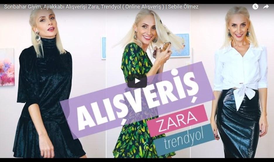 Sonbahar Giyim, Ayakkabı Alışverişi Zara, Trendyol ( Online Alışveriş )