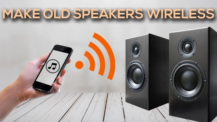 making speaker wireless
