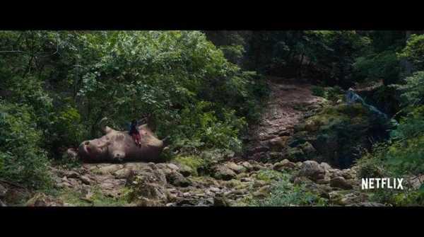 Okja 2017 hollywood Dual Audio (Hindi-English) 1gb 720p