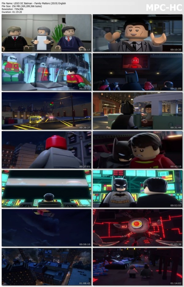 LEGO DC Batman - Family Matters Full Movie Download