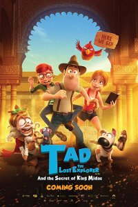 Tad the Lost Explorer and the Secret of King Midas (2017) Download Dual Audio in Hindi BluRay 720p 700MB