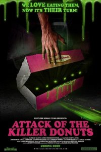 Attack of the Killer Donuts (2016) Full Movie Download (Hindi-German) BluRay 480p 290MB | 720p 907MB