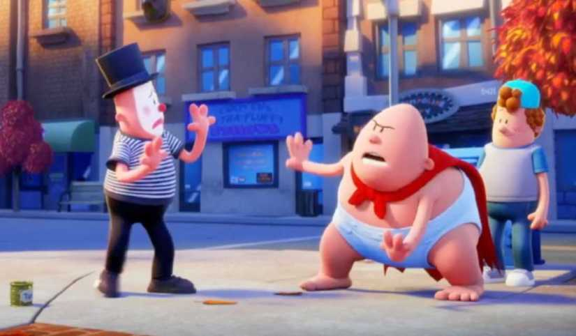 Download Captain Underpants The First Epic 2017 Dual Audio Hindi 480p 200mb 720p 1 1gb