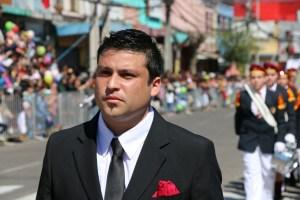 José Fuentes Durán, Instructor de la Banda de Guerra