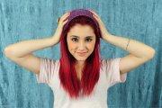 ariana grande red hairs hd celebrities