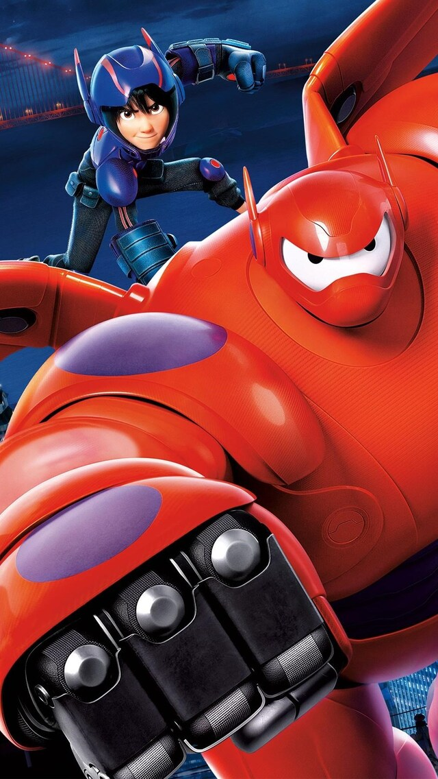 640x1136 Big Hero 6 HD iPhone 5.5c.5S.SE .Ipod Touch HD 4k Wallpapers. Images. Backgrounds. Photos and Pictures