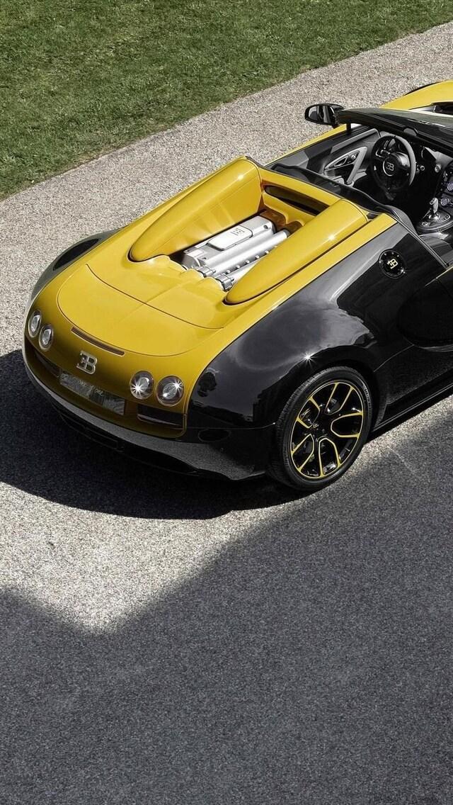 640x1136 Bugatti Veyron Grand Sport Iphone 5,5c,5s,se