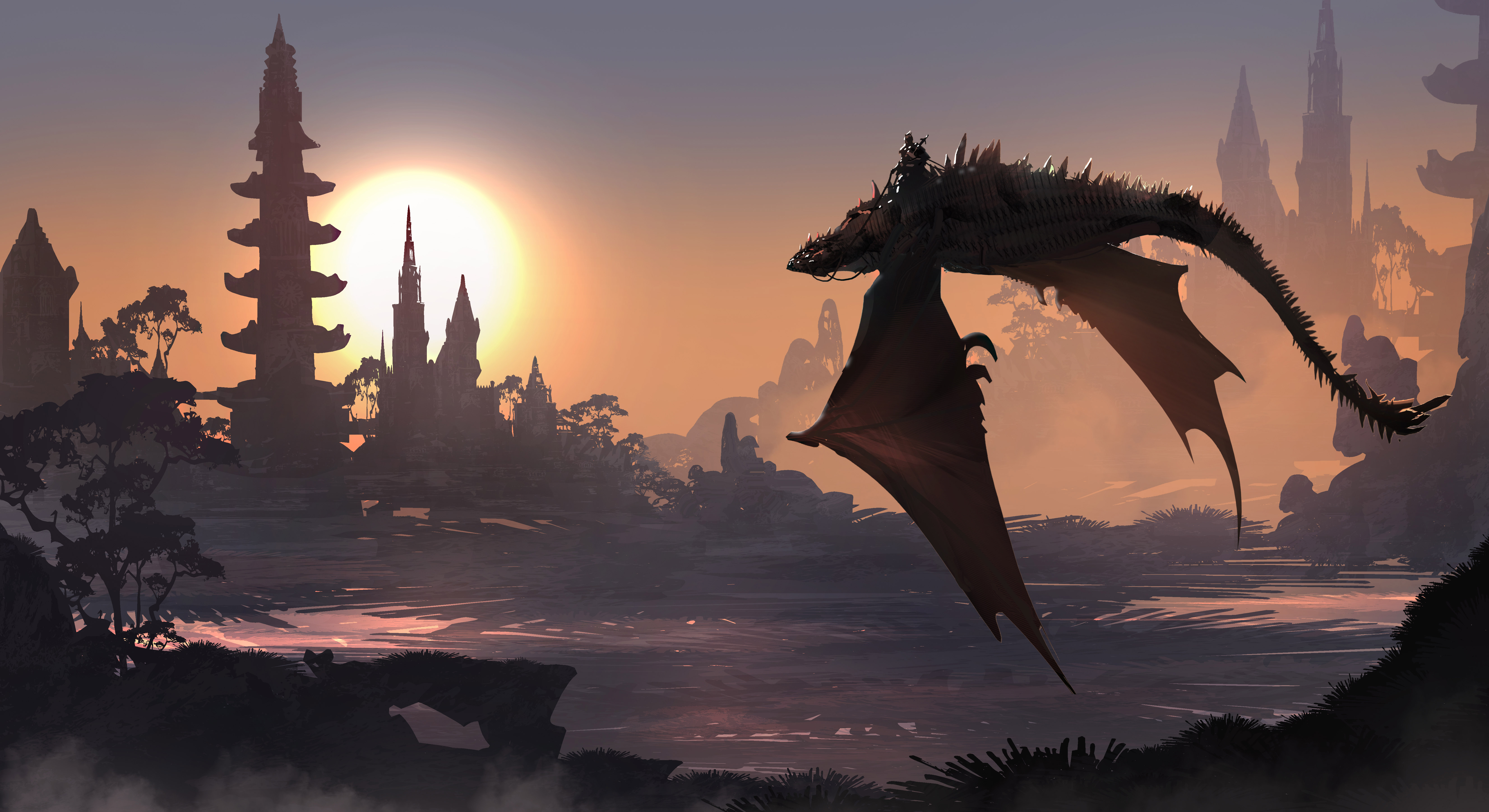 Dragon Fantasy Art 5k, Hd Artist, 4k Wallpapers, Images