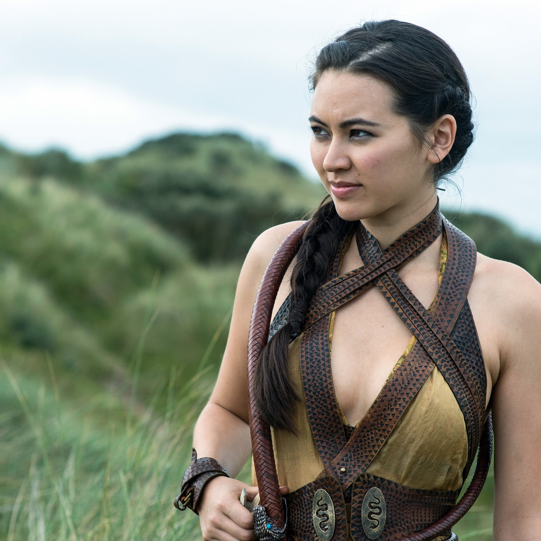 Crazy Anime Girl Wallpapers 2048x2048 Jessica Henwick Nymeria Sand Game Of Thrones