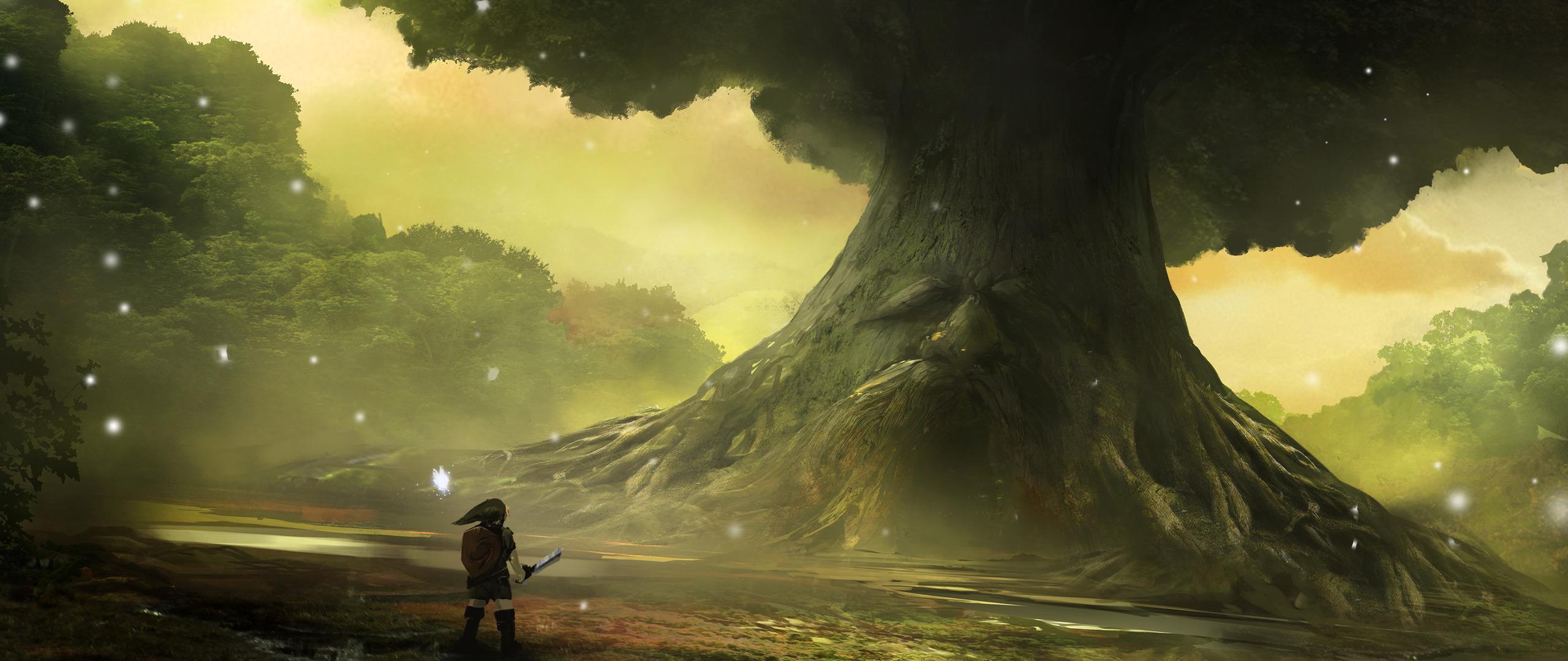 Zelda Ocarina Of Time 3d Wallpaper 2560x1080 Zelda Ocarina Of Time Artwork 2560x1080