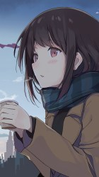 anime holding outside tea wallpapers hd iphone xl plus 6s pixel 3t 1779 4k