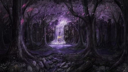 anime landscape 4k trees wallpapers hd fairies 5k dress 1080p laptop backgrounds resolution 1956 artwork artist digital