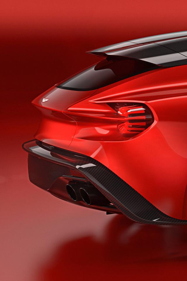 640x960 Aston Martin Vanquish Zagato Shooting Brake 2018 Iphone 4