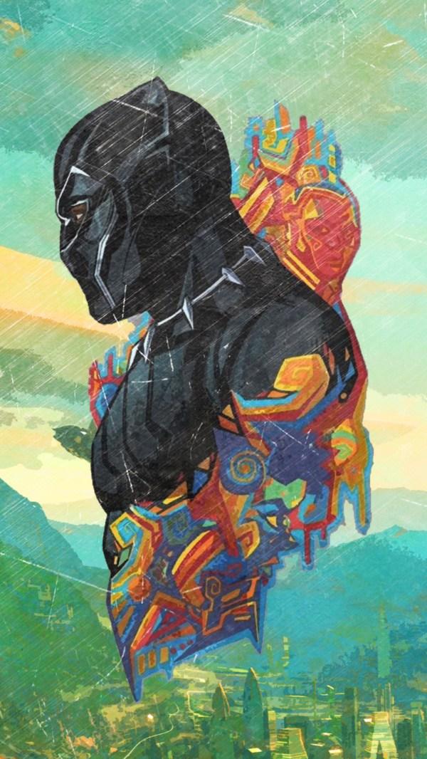 Black Panther Art Promo