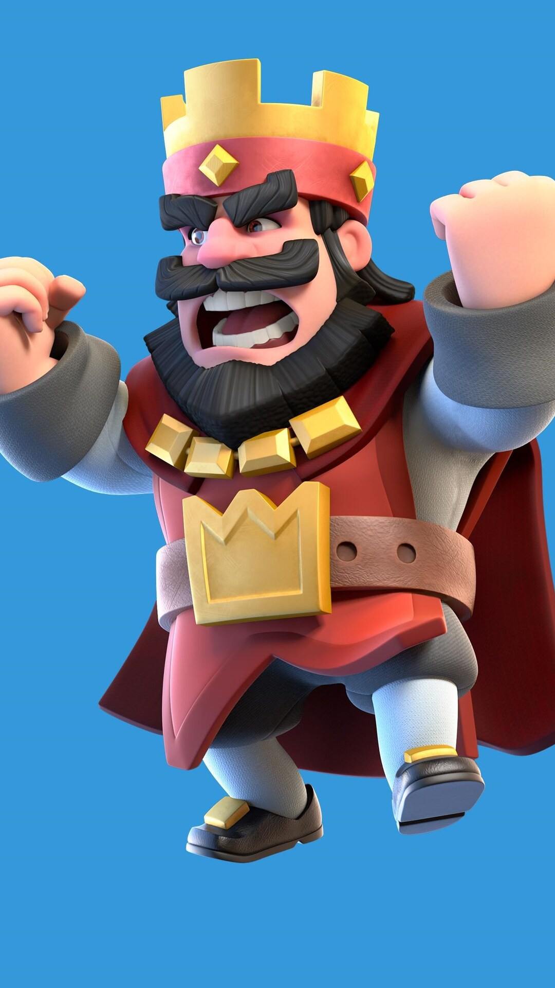 1080x1920 Clash Royale Red King Iphone 7,6s,6 Plus, Pixel