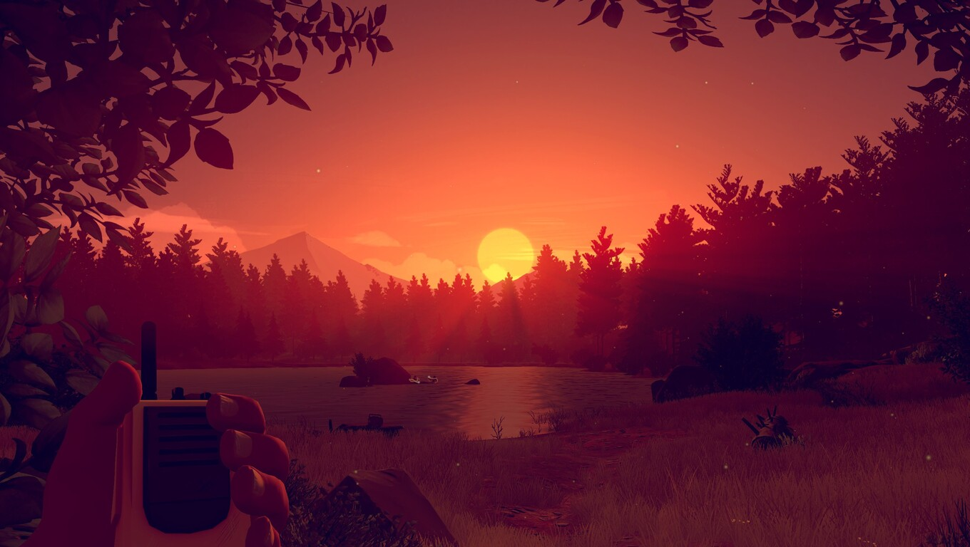 1360x768 Firewatch Game Sunset Laptop HD HD 4k Wallpapers Images Backgrounds Photos And Pictures